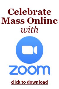 Mass Online with Zoom